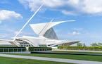 The Milwaukee Art Museum was designed by legendary Spanish architect Santiago Calatrava. It has a commanding lakeshore presence.