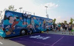 Minnesota Sports and Events (MNSE) held the first stop of its Land O' Lakes Title IX Championship Tour last Saturday at Vikings training camp.