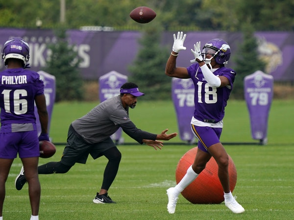 Jefferson, passing game slip in Cousins' return to practice