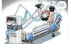 Sack cartoon: Sturgis '21