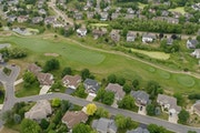 The suburb of Prior Lake features large homes abutting golf courses and lakes. MARK VANCLEAVE • STAR TRIBUNE
