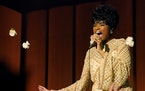 Jennifer Hudson shines as Aretha Franklin, but the script stumbles as it tries to include too much of the singer's life story.
