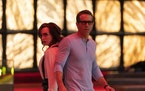 Ryan Reynolds stars as a video game character who helps real-life player Jodie Comer hunt down stolen code inside his game.