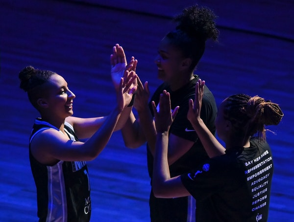 Lynx guard Clarendon thrives on the court while embracing many roles