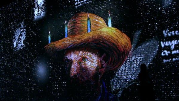 'Immersive Van Gogh' turns a Minneapolis building into participatory art