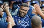 Nelson Cruz has hit four home runs for the Rays.
