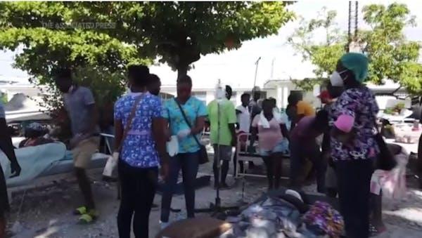 Death toll soars in aftermath of Haiti earthquake