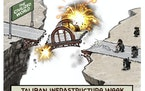 Sack cartoon: Afghanistan