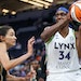 Lynx center Sylvia Fowles has established herself as the team's leader six years after joining a team of established stars.