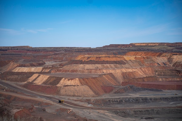 The Hull-Rust-Mahoning taconite mine has left an otherworldly impression on the landscape around Hibbing.