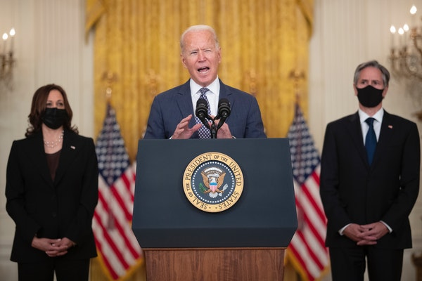 Biden vows to bring Americans in Afghanistan home