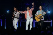 The Jonas Brothers performed at the Armory in Minneapolis during the Final Four tournament in April 2019.