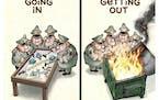 Sack cartoon: Afghanistan plans