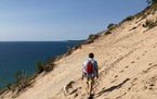 Near Beulah, Mich., Arcadia Dunes on Lake Michigan are a less-touristed alternative to Sleeping Bear Dunes National Lakeshore.