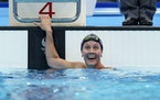 Eagan's Mallory Weggemann reacted after winning the women's 200-meter individual medley in the SM7 classification at the Tokyo Paralympic Games.