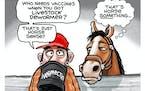 Sack cartoon: False COVID cures