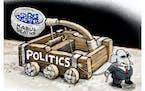 Sack cartoon: Politics and Afghanistan
