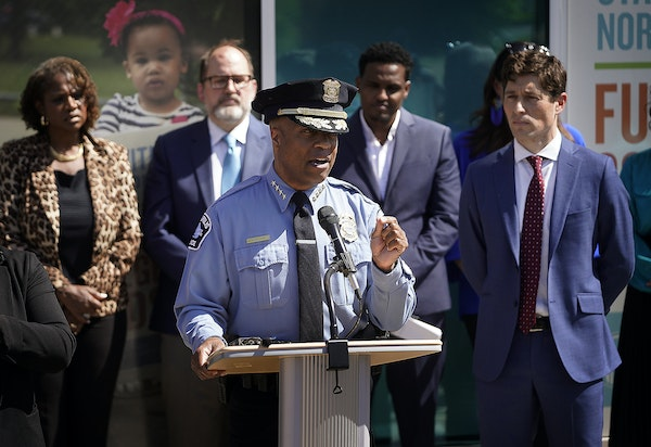 Minneapolis police chief breaks silence on charter amendment, calling it 'wholly unbearable'