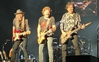 The Doobie Brothers went on without Michael McDonald on Tuesday night at the Minnesota State Fair.