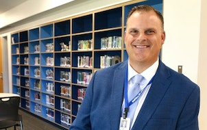 Sartell-St. Stephen Superintendent Jeff Ridlehoover started with the central Minnesota school district in July 2021.
