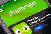 Duolingo, maker of a language-learning app, is one of the for-profit education companies to watch these days, say executives at a Twin Cities investme