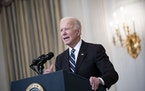 President Joe Biden spoke Thursday about his plan to stop the Delta variant and boost COVID-19 vaccinations.