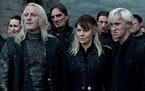 """The Malfoy family in """"Harry Potter and the Deathly Hallows: Part 2."""""""