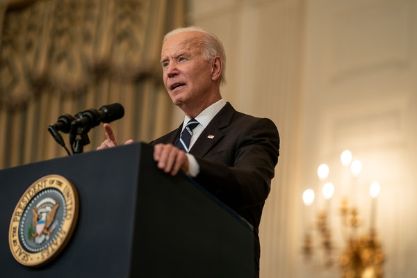 President Joe Biden delivered remarks on his plan to stop the spread of the delta variant and boost COVID-19 vaccinations at the White House on Thursd
