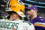 Aaron Rodgers and Kirk Cousins and all that fun Vikings-Packers drama gets underway Sunday, even though the two teams don't meet for weeks.