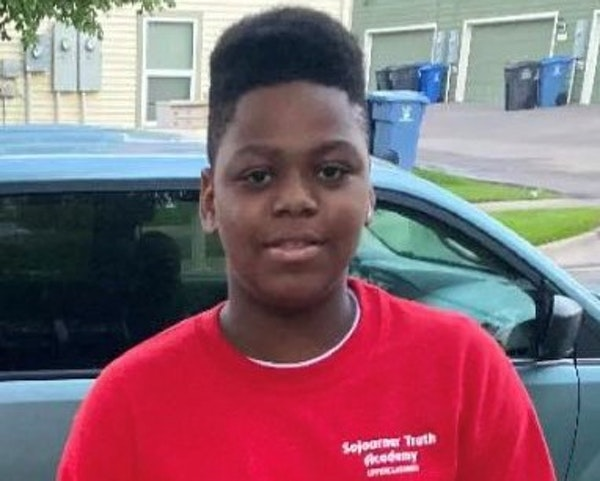 London Bean, 12, was a sixth-grader at Sojourner Truth Academy in Minneapolis. He was shot and killed recently after a dispute with another child. (fa