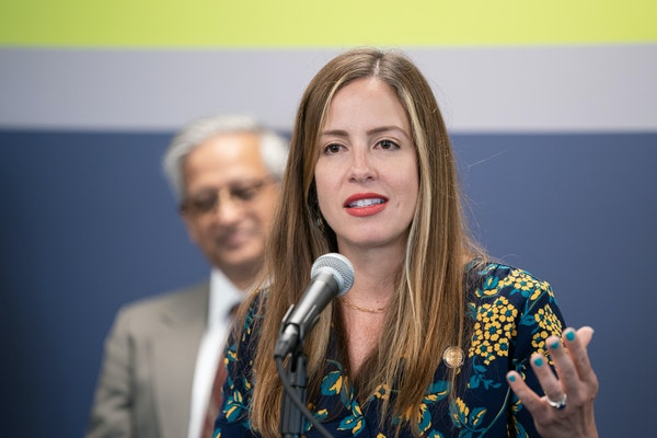 Sen. Melisa López Franzen of Edina is the new Senate DFL Minority Leader. GLEN STUBBE • STAR TRIBUNE