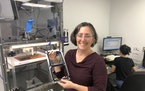 Cora Leibig, a veteran scientist and industrialist, is CEO of Chromatic 3D Materials.