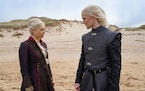 """Emma D'Arcy and Matt Smith in the """"Game of Thrones"""" prequel """"House of the Dragon."""""""
