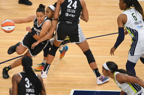 Lynx point guard Layshia Clarendon, who is shooting a career-best 52% from the field this season, has missed the past six games because of a right fib