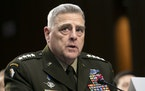 Chairman of the Joint Chiefs of Staff Gen. Mark Milley spoke with a number of other chiefs of defense around the world in the days after the Jan. 6 ri