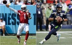 The Vikings will face Arizona's Kyler Murray and Seattle's Russell Wilson in the next two weeks.