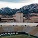 Folsom Field at the University of Colorado.