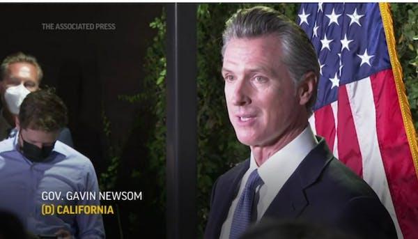 California Gov. Gavin Newsom survives recall attempt
