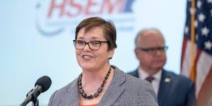 Minnesota Environmental Quality Board Chair Margaret Anderson Kelliher.     ] GLEN STUBBE • glen.stubbe@startribune.com