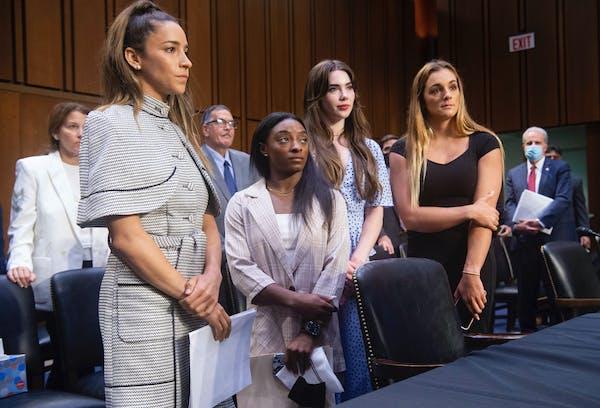 Gymnasts call on Senate to hold FBI accountable