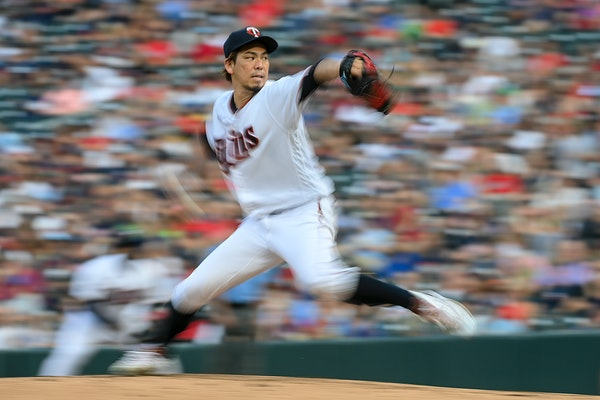 Twins' Maeda stays optimistic while enduring an unfamiliar absence