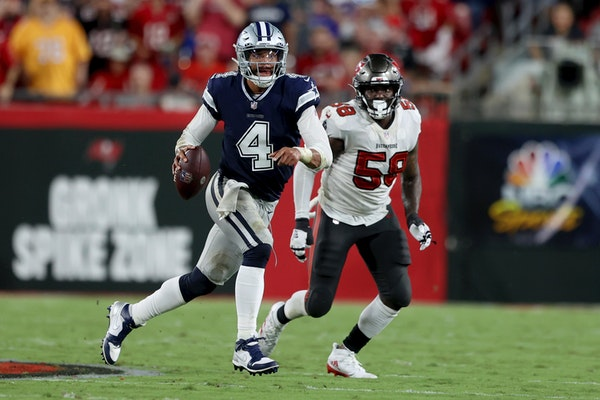 Dak Prescott and the Cowboys are getting three points facing the Chargers in Los Angeles? Mark Craig smells an upset.