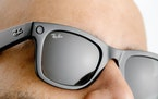 Facebook has teamed up with Ray-Ban to create glasses that can take photos, record video, answer phone calls and play podcasts.