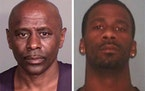 Darren Lee McWright was arrested. Antoine Darnique Suggs is believed to be in the Twin Cities area.