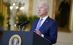 President Joe Biden delivers remarks on the economy in the East Room of the White House, Thursday, Sept. 16, 2021, in Washington. (AP Photo/Evan Vucci