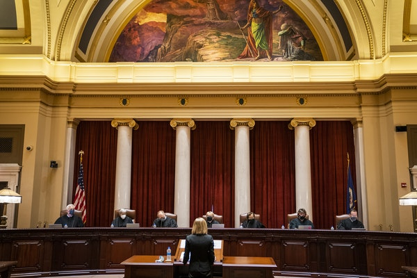 The Minnesota Supreme Court ruled that the law requiring unanimous approval by the state Board of Pardons is constitutional LEILA NAVIDI • STAR TRIB