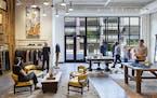 Designer digs: Alabama-based fashion designer Billy Reid now has a storefront in Edina's Nolan Mains.