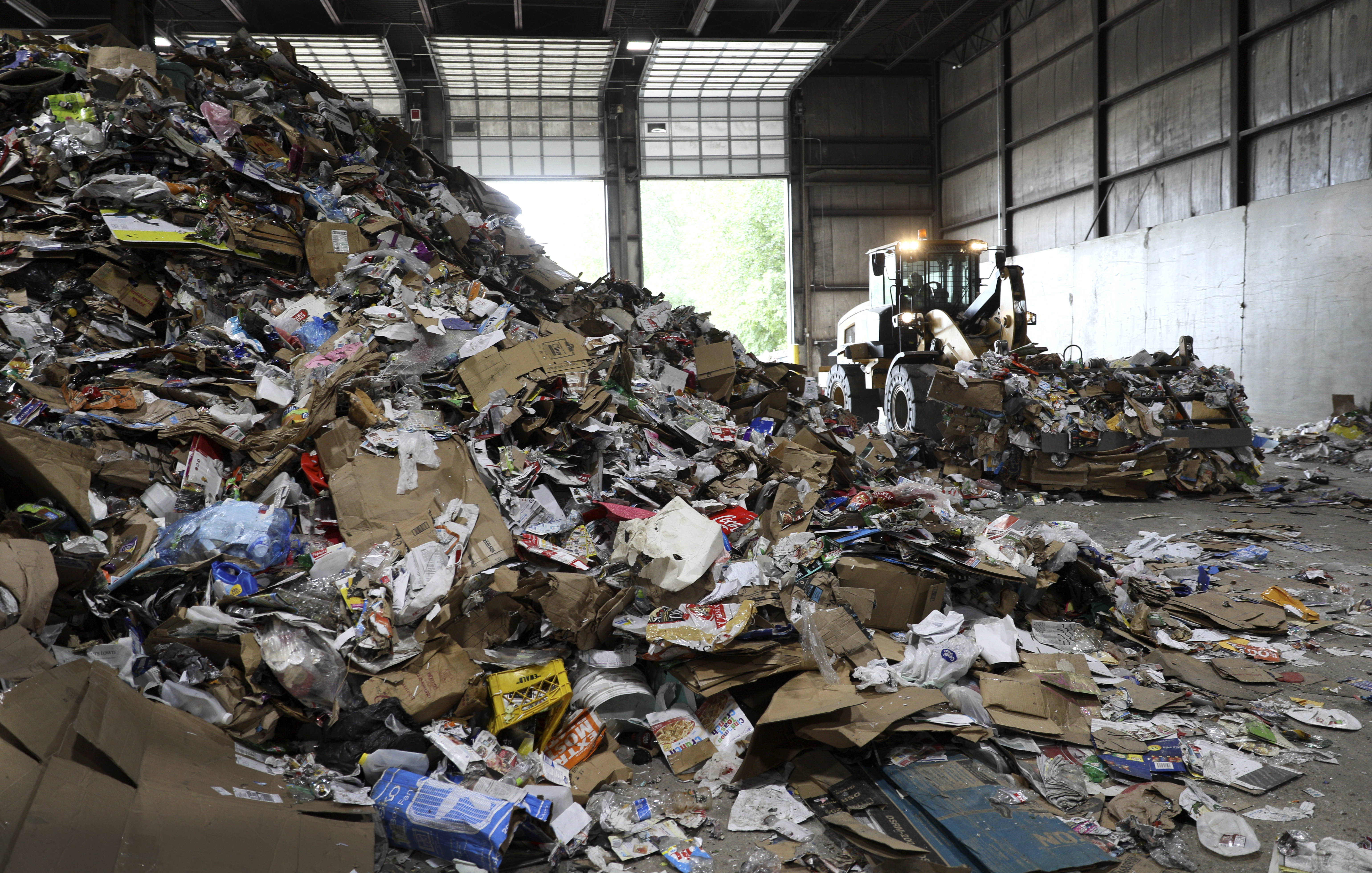 Eureka Recycling's processing facility in northeast Minneapolis.