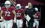 Cardinals coach Kliff Kingsbury is in his third season, with a 14-18-1 record and no playoff appearances.