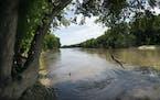 The Minnesota River in July 2020 at the Minnesota Valley National Wildlife Refuge in Bloomington.  ] RENEE JONES SCHNEIDER renee.jones@startribune.com